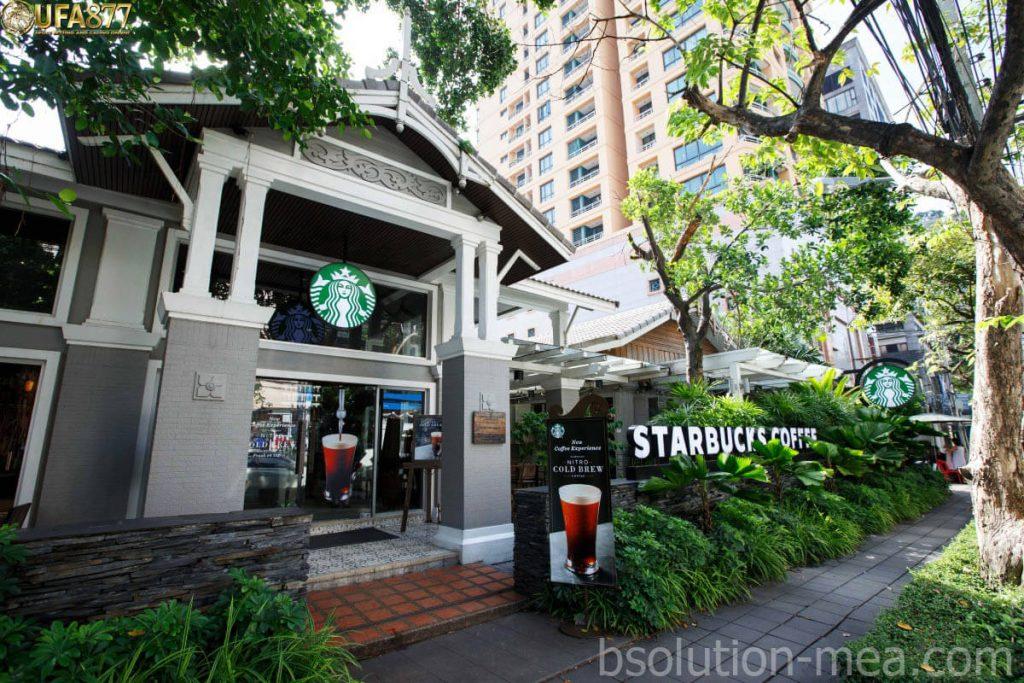 ร้าน Starbucks ที่เด็ดที่สุดในประเทศไทย